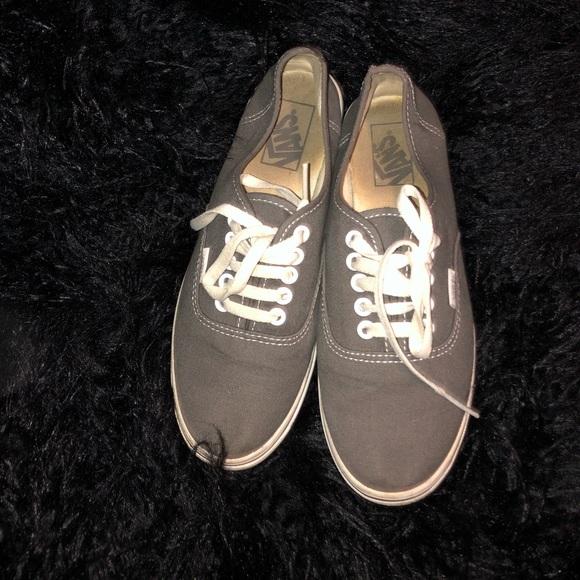 Modestile online zum Verkauf doppelter gutschein Vans Shoes | Used Grey | Poshmark